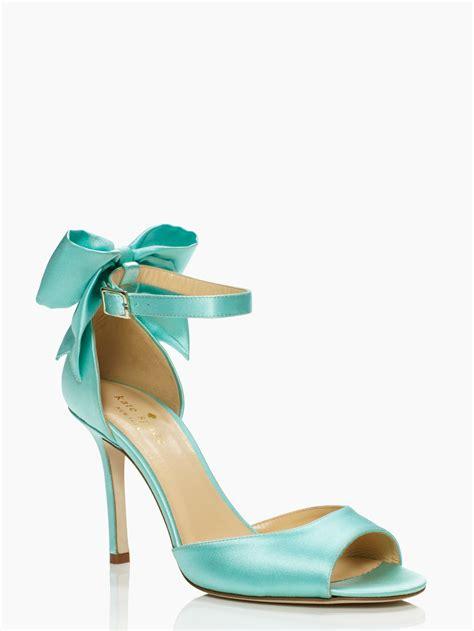 kate spade shoes kate spade izzie heels in blue grace blue lyst