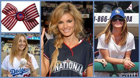 Hairstyles For Baseball Games | hairstyle ideas for a baseball game gameday outfit ideas