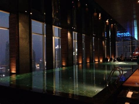 infinity pool shanghai evening at the infinity pool picture of four seasons