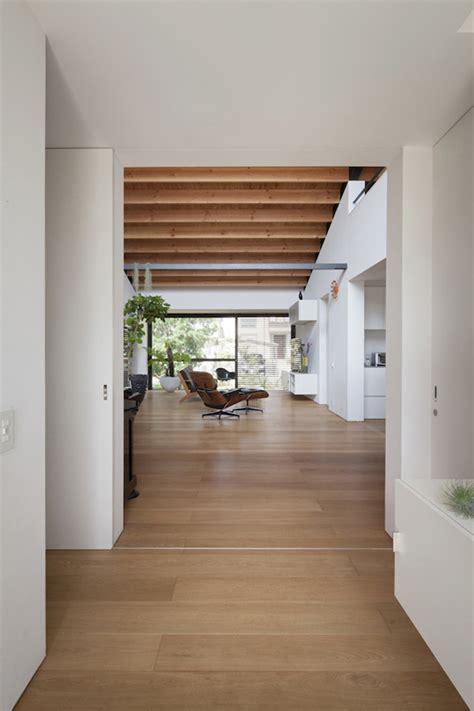 Open Concept Living Room Dining Room Kitchen a modern hipped roof house in japan home design lover
