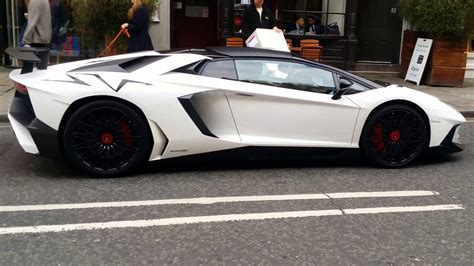 Sv White white lamborghini aventador sv lp750 4 2016 on sound at the end