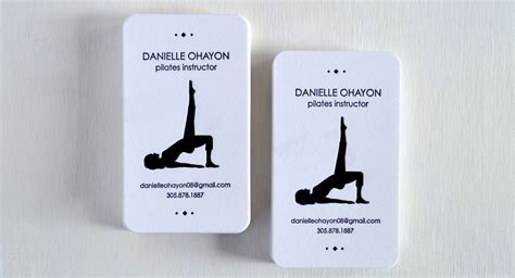 pilates business cards templates pilates business cards choice image card design and