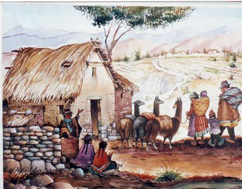 imagenes de paisajes andinos reynaldo charres vargas acuarelas andinas