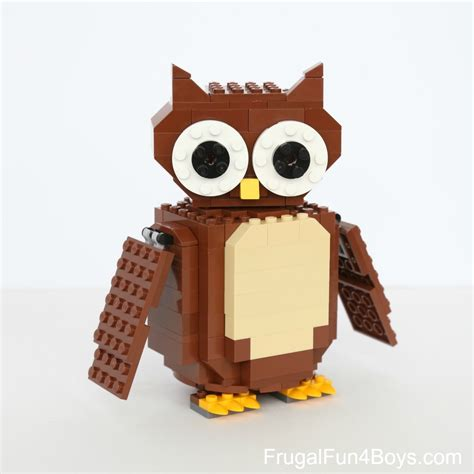 lego owl tutorial instagram feed