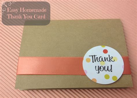 Easy Handmade Thank You Cards - thank you card popular images of thank you cards