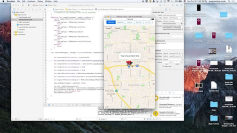xcode map tutorial ios 10 swift 3 xcode 8 map tutorials finding current user