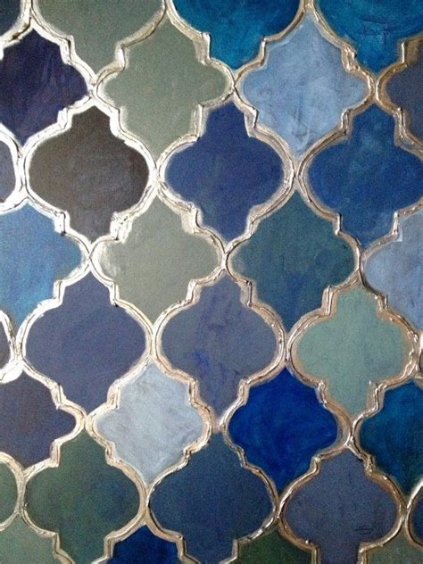 pattern moroccan tile moroccan style painting moroccan decor blue moroccan