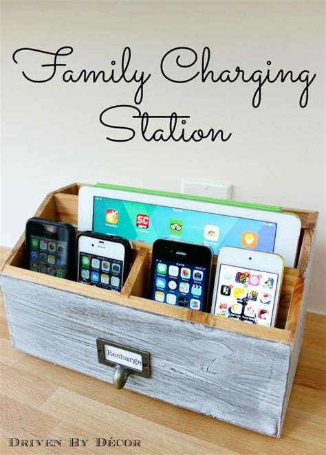 home charging station awesome diy gift ideas mom and dad will love page 5 of 7