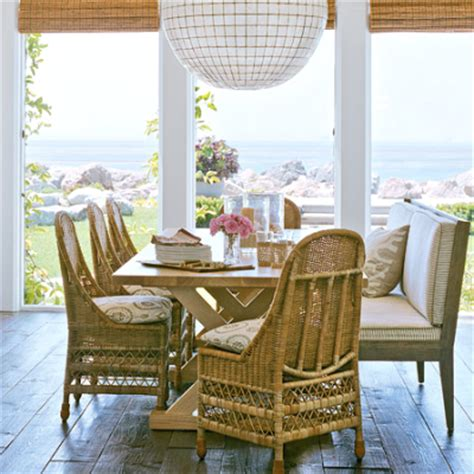 dining room wicker chairs outdoor indoor wicker furniture for coastal style living