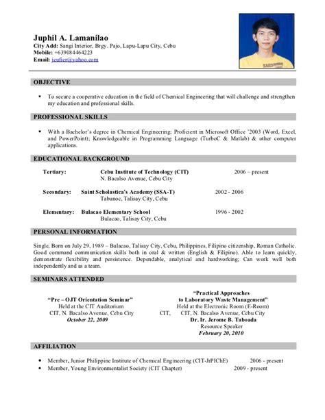resume sample 10   Resume Cv