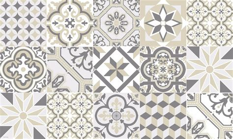 Tapis Carreaux De Ciment Vinyl 5869 by Tapis Vinyle Carreaux De Ciment Ginette Beige