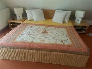 billige doppelbetten mit matratze doppelbett aus korbgeflecht in n 252 rnberg betten kaufen