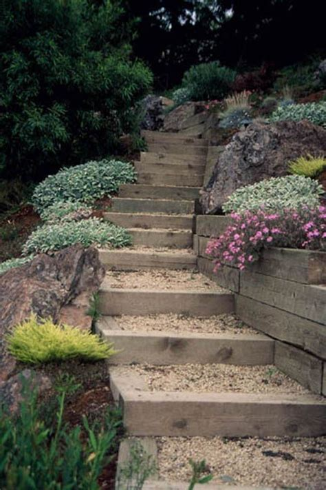 landscaping stairs landscaping ideas stair entertaining garden