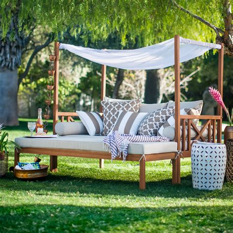 outdoor patio lounge daybed belham living brighton outdoor daybed and ottoman