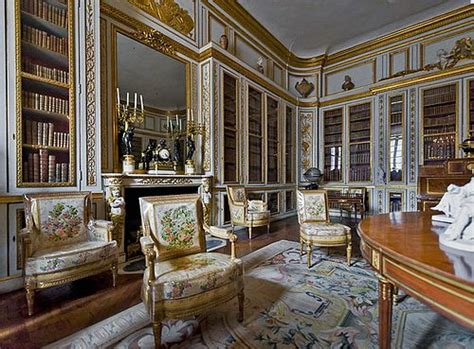 Louis Xvi Interior by Louis Xvi Versailles And The Library On