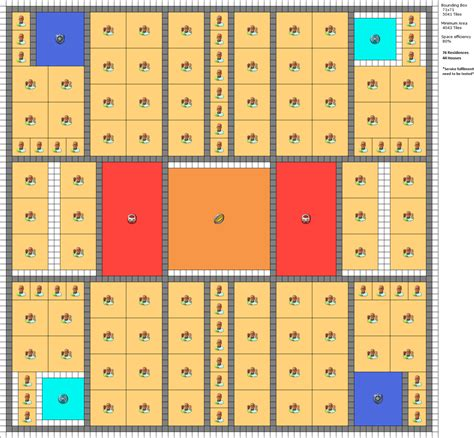layout of the building stadium center layout anno2205