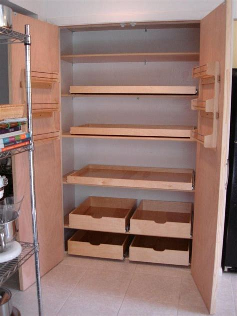 roll out drawers best 25 pull out shelves ideas on pinterest deep pantry
