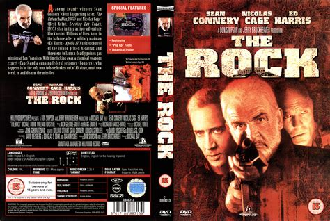 the rock the rock 1996 ws r2 dvd cd label dvd cover front cover