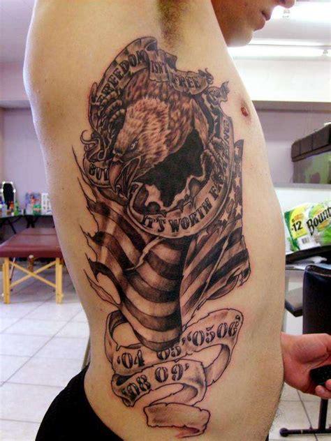 tattoo nightmares usmc soldier s patriotic piece tattoo