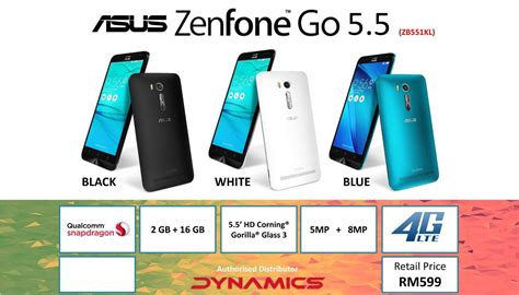 Asus Zenfone Go 5 5 Zb552kl asus zenfone go 5 5 zb552kl specifications theinnews