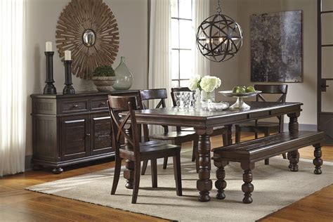 Hayley Dining Room Set ashley furniture dining room set with bench ashley