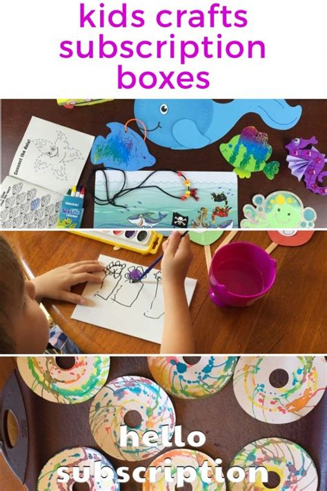 kid craft subscription box 140 best images about 要做 on early childhood
