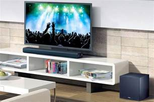 sound bar on top of tv sound bars get better audio for your tv