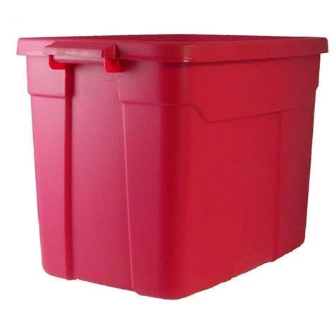 18 gallon storage containers shop centrex plastics llc plastic 18 gallon rugged tote