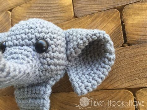 amigurumi ears pattern webster the elephant bookmark amigurumi crochet pattern