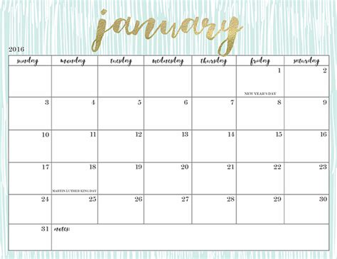 free printable your lovely 2016 calendars free printable 2016 calendars oh so lovely blog