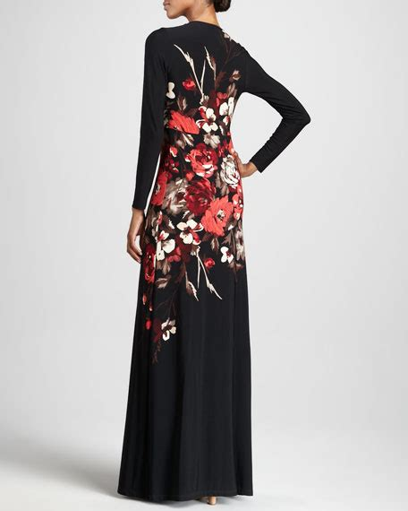 Poppy Maxi masse poppy print maxi dress