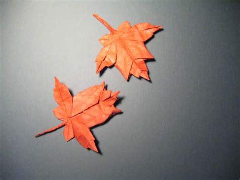 Origami Leave - maple leaf
