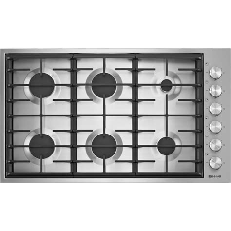 6 Burner Cooktop 36 Quot 6 Burner Gas Cooktop Jenn Air