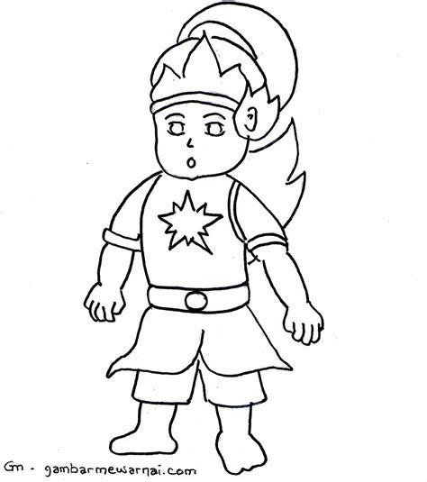 koleksi gambar mewarnai kartun untuk anak terbaru the knownledge