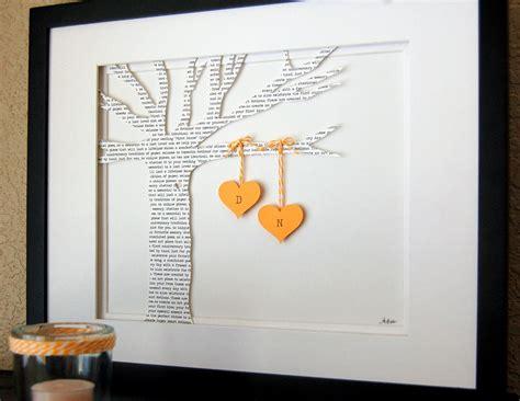 Wedding Song Lyrics Anniversary Gift by Personalized Wedding Gift Song Lyrics