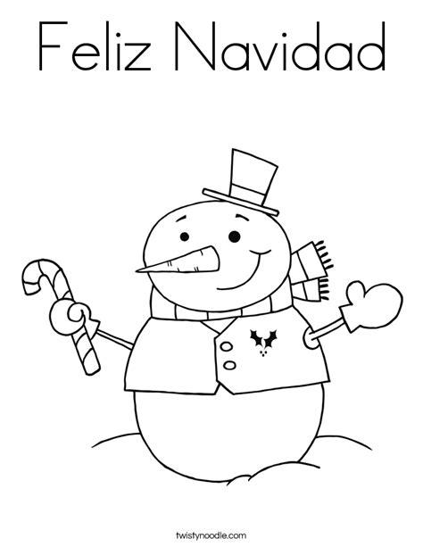 feliz navidad coloring pages coloring pages