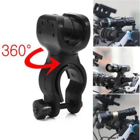 Bike Bicycle Flashlight Senter Holder Easy Mount And Ea Diskon easy rotation swivel bicycle mount road bike headlight