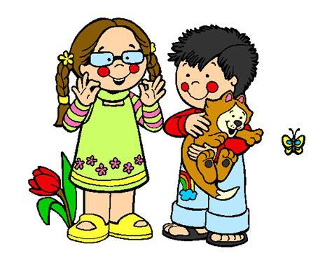 imagenes de niños alegres en caricatura dibujos de ni 209 os en el campo imagui