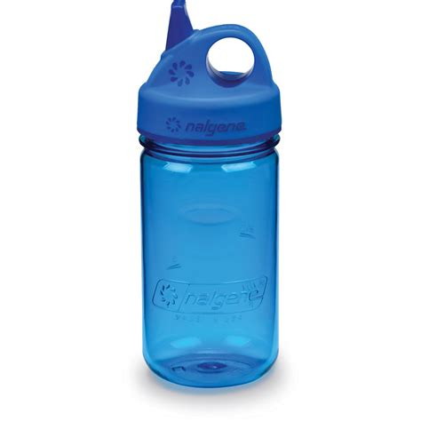 Nalgene Flask Blue nalgene grip n gulp bottle 12 fl oz blue 2182 7012 b h photo