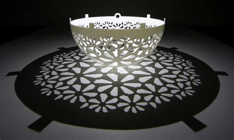 pattern of shadow and light geometric shadow play with 3d printing 3d printing industry