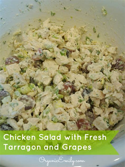 chicken veronique chicken salad with fresh tarragon and grapes