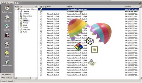 microsoft easter eggs looking back at microsoft outlook easter eggs techrepublic
