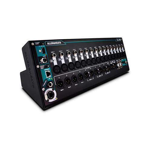 Mixer Allen Heath Terbaru allen and heath qu sb portable remote controlled digital mixer box opened at gear4music