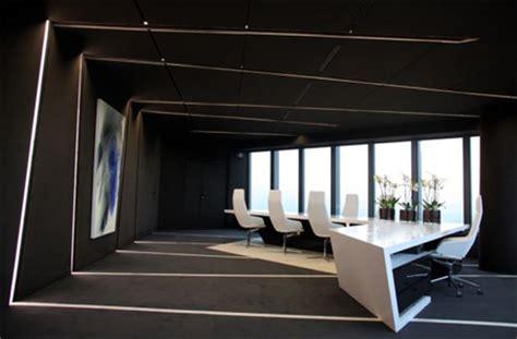 black white futuristic couch futuristic office interior design