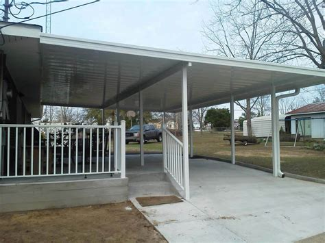 awnings baton rouge carport covers hammond la aluminum specialties patio