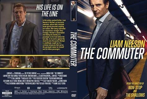 Dvd The Commuter 2018 the commuter 2018 dvd custom cover custom dvd cover designs