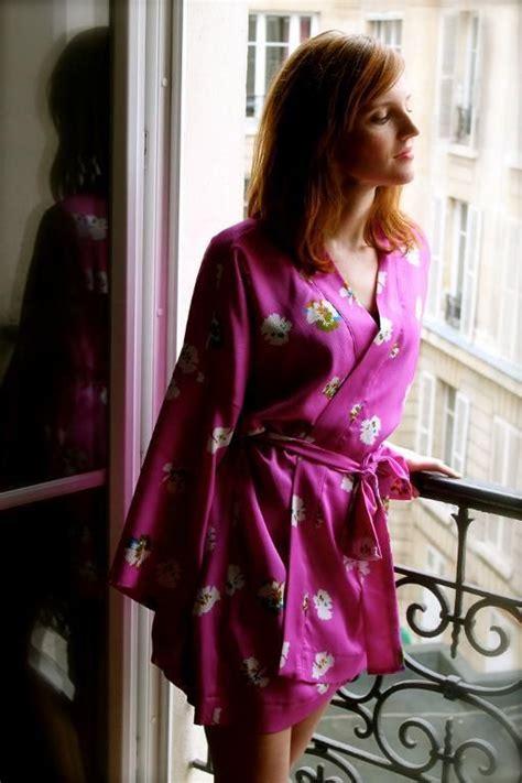 kimono pyjamas pattern kimono robe sewing pattern long and short versions