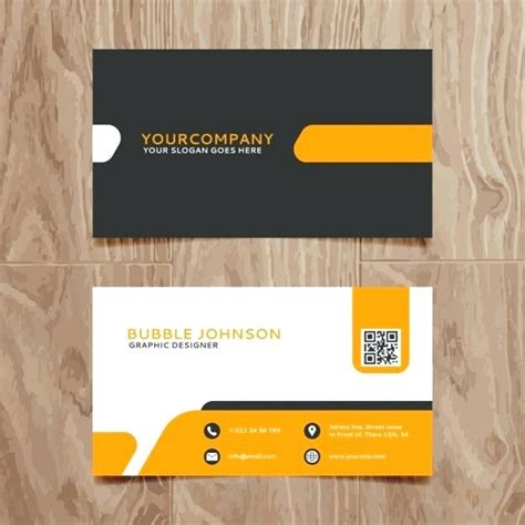 Free Business Card Template Cdr by Business Cards In Cdr Format Gallery Card Design And