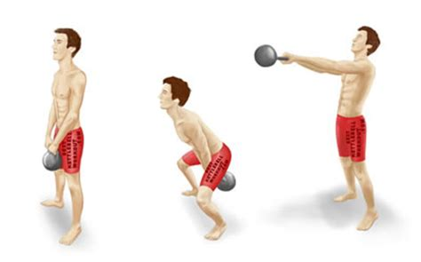kettle swing exercise the best kettlebell workout for strength gain weight loss