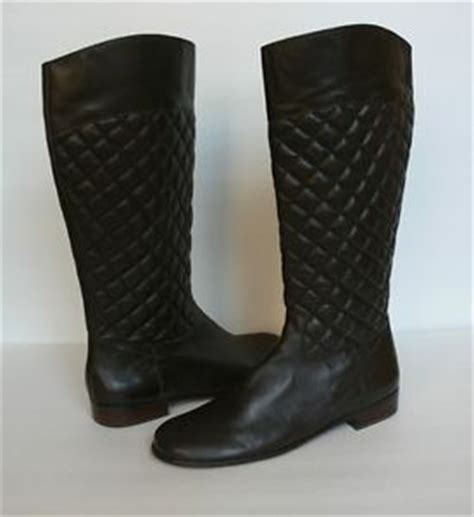 Corso Como Quilted Boots by Gorgeous Quilted Corso Como Boots Black Leather